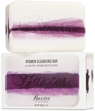 Baxter of California Vitamin Cleansing Bar - Bergamot and Pear 198g