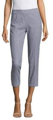 Piazza Sempione Cropped Printed Pants