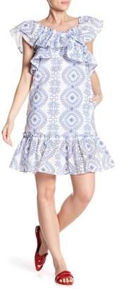 Paul & Joe Sister Kimmy Flutter Sleeve Knit Dress