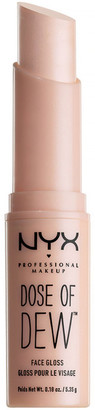 NYX Professional Makeup Dose of Dew Face Gloss $9 thestylecure.com