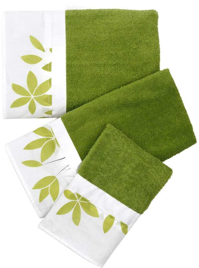 Popular Bath Mayan Leaf 3-pc. Bath Towel Set