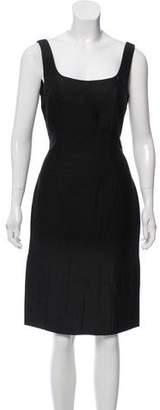 Prada Virgin Wool Sleeveless Dress w/ Tags