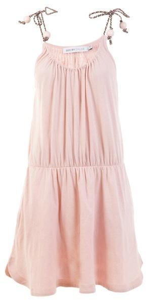 SEE BY CHLOÉ - 'Beach' sleeveless cotton dress