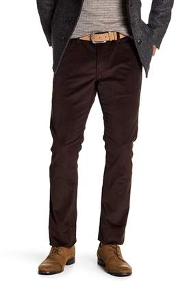 John Varvatos Collection Woodward Pick Stitch Corduroy Slim Jeans