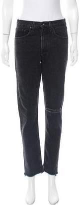 Rag & Bone Distressed Mid-Rise Jeans w/ Tags