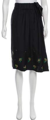 Stella McCartney Printed Midi Skirt