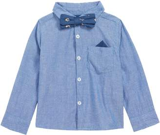 Peek Essentials Peek Bow Tie Oxford Shirt