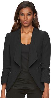 Women's Apt. 9® Solid Crepe Blazer $60 thestylecure.com