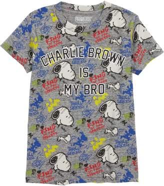 Little Eleven Paris Little ELEVENPARIS Peanuts(R) Skateboard Snoopy(R) T-Shirt
