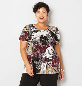Avenue Paisley Patchwork Swing Top