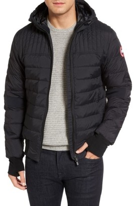 Men's Canada Goose Cabri Hooded Down Jacket $550 thestylecure.com