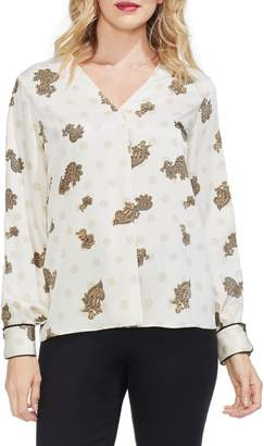 Vince Camuto Paisley Top