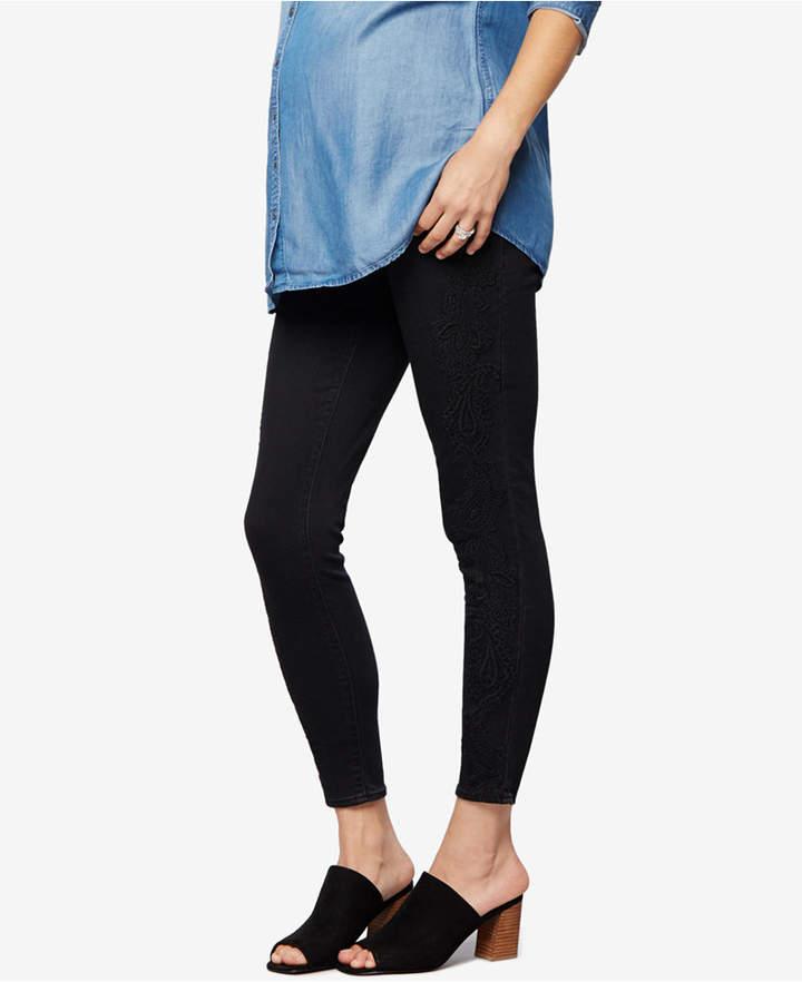 A Pea In The PodA Pea in the Pod Maternity Black Wash Skinny Jeans