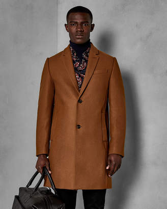Ted Baker FALO Pin dot overcoat