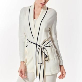 Black Label Valentina Mini Wrap Robe