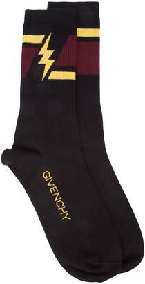 Givenchy printed ribbed socks