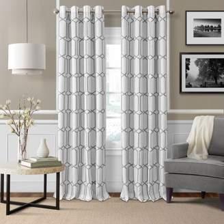 "Elrene Home Fashions Kaiden Blackout Window Panel, 52"" x 84"""
