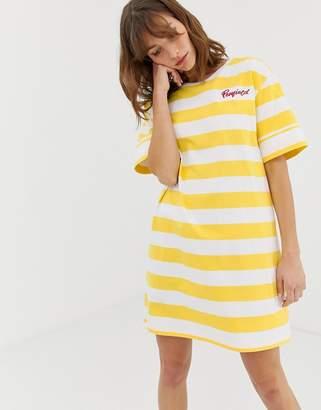Penfield Jax striped t-shirt dress