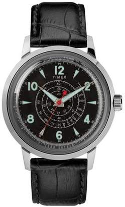 Todd Snyder Timex + Beekman Watch in Black