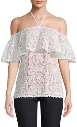 Alexis Women's Isa Floral Lace Off-Shoulder Top