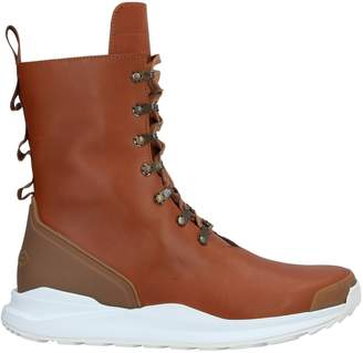Rick Owens x HOOD RUBBER Ankle boots