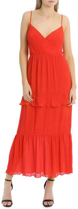 Miss Shop Tiered Pleated Maxi