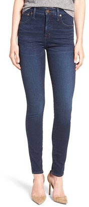 Women's Madewell High Rise Skinny Jeans $128 thestylecure.com