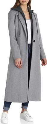 AVEC LES FILLES Wool Blend Coat
