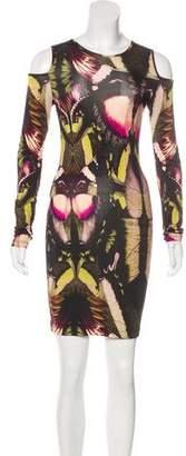 Jean Paul Gaultier Soleil Printed Mini Dress w/ Tags