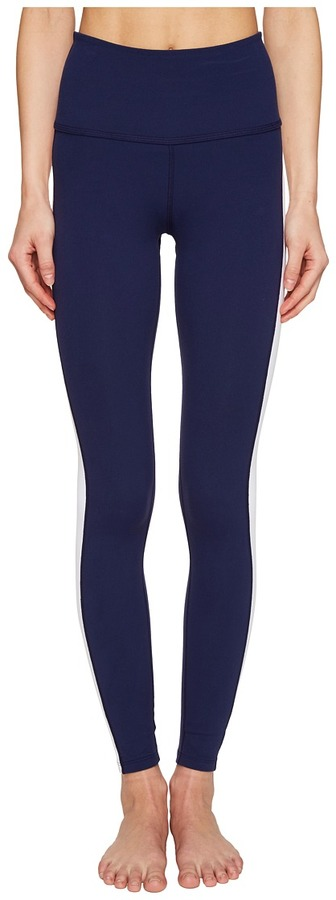 Kate Spade New York x Beyond Yoga - Tuxedo High Waist Leggings Women's Casual Pants