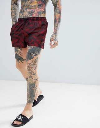 Calvin Klein Jacquard Short Swim Shorts