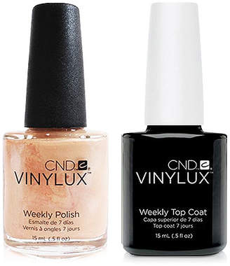 CND Creative Nail Design Vinylux Dandelion Nail Polish & Top Coat (Two Items), 0.5-oz, from Purebeauty Salon & Spa