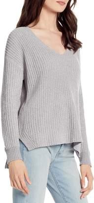 Michael Stars Chenille V-Neck Sweater