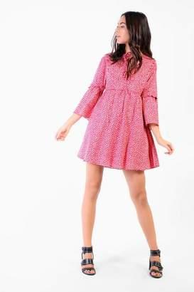 Glamorous Petites **Ditsy Tunic Dress by Petite