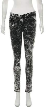 Rag & Bone Acid Wash Low-Rise Jeans