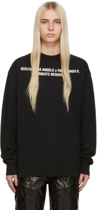 Palm Angels Black Big Palm x Palm Long Sleeve T-Shirt