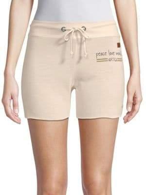 Peace Love World Pristine Drawstring Shorts