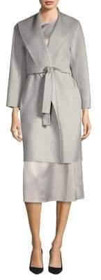 Max Mara Shawl Collar Wool Coat