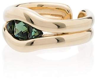 Fernando Jorge 18K gold and emerald Trill ring