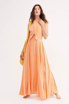 Free People My Long Time Love Maxi Dress