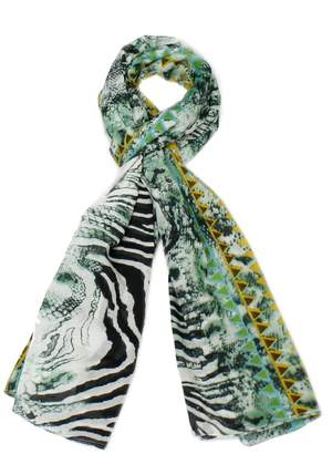 Violet Del Mar Animal Print Scarf