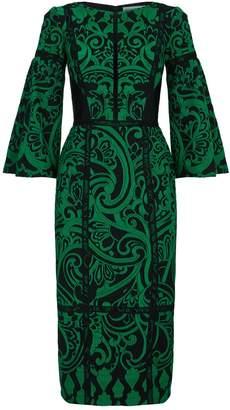 Amanda Wakeley Jacquard Midi Dress