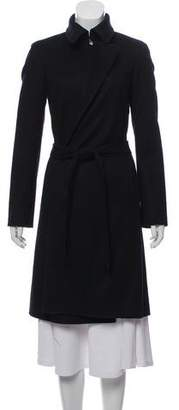 The Row Cashmere and Wool Blend Belted Coat