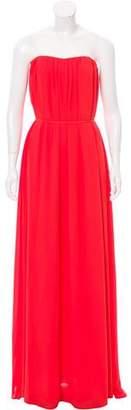 Saloni Strapless Evening Dress w/ Tags