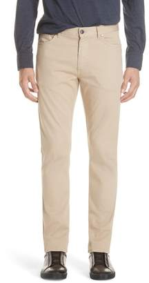 Ermenegildo Zegna Stretch Cotton Five Pocket Pants