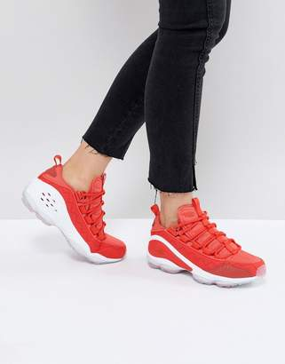 Reebok Classic Dmx Run 10 Ice Trainers In Red