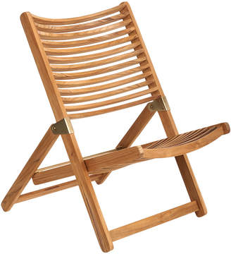 Pols Potten Rdam Lounge Chair - Teak