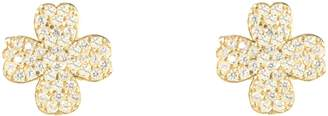 Latelita - Lucky Four Leaf Clover Earring Gold