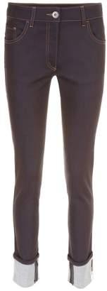 Prada Linea Rossa Deep Blue Denim Jeans