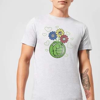 Marvel Avengers Hulk Flower Fist T-Shirt